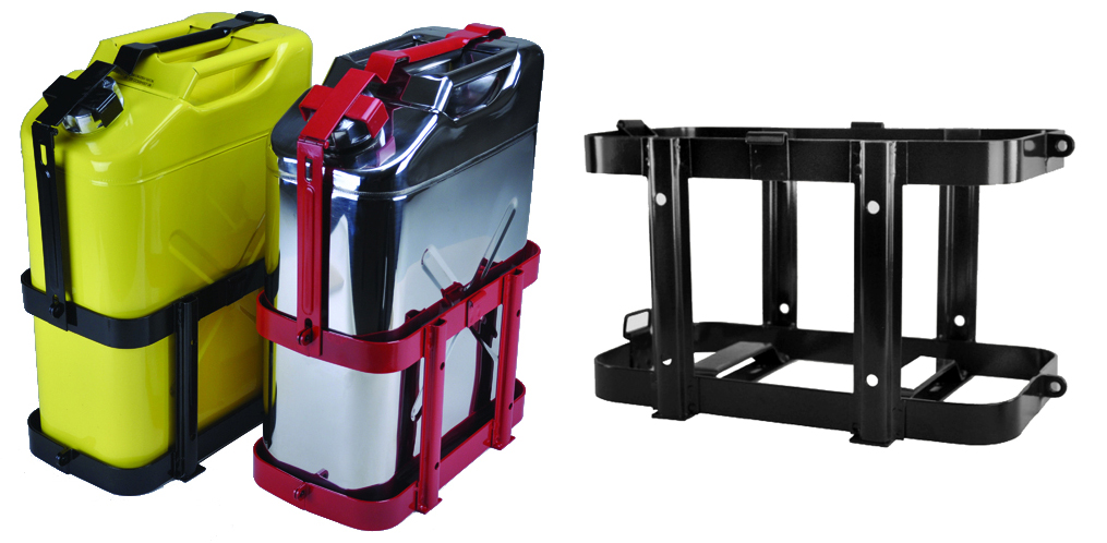 5 GALLON JERRY CAN CONTAINER RACKS
