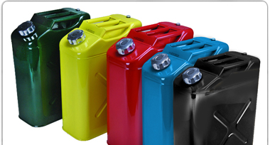 5 GALLON JERRY CAN CONTAINERS