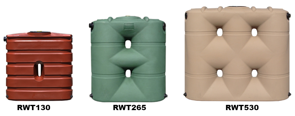 BUSHMAN SLIM LINE WATER TANKS