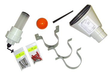 BUSHMAN FIRST FLUSH KEY COMPONENTS KIT