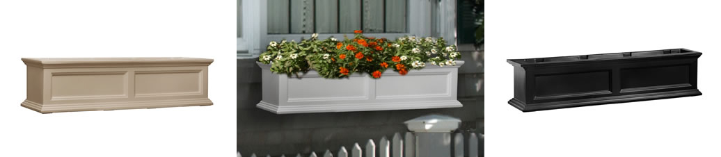FAIRFIELD 48 INCH WINDOW PLANTER