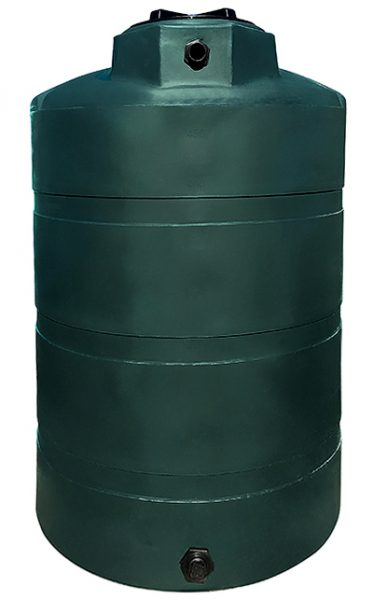NORWESCO 500 GALLON VERTICAL WATER TANK