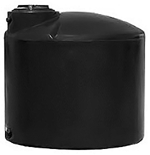 NORWESCO 2,100 GALLON VERTICAL WATER STORAGE TANK