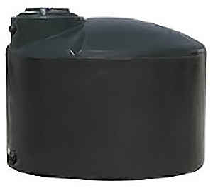 NORWESCO 1,000 GALLON VERTICAL WATER STORAGE TANK