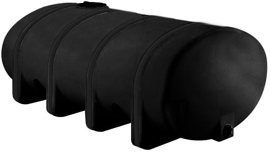 NORWESCO 2,035 GALLON ELLIPTICAL LEG TANK | BLACK