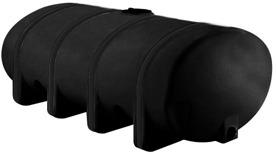 NORWESCO 4,035 GALLON ELLIPTICAL LEG TANK | BLACK