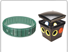LIDS, RISERS & DISTRIBUTION BOXES
