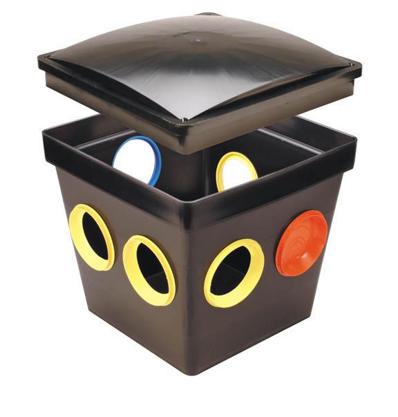 TUF TITE 7 HOLE DISTRIBUTION BOX
